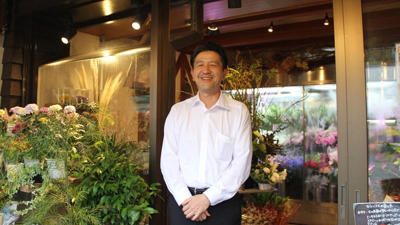 フラワーショップ やざきの矢崎様からお話しを伺いました